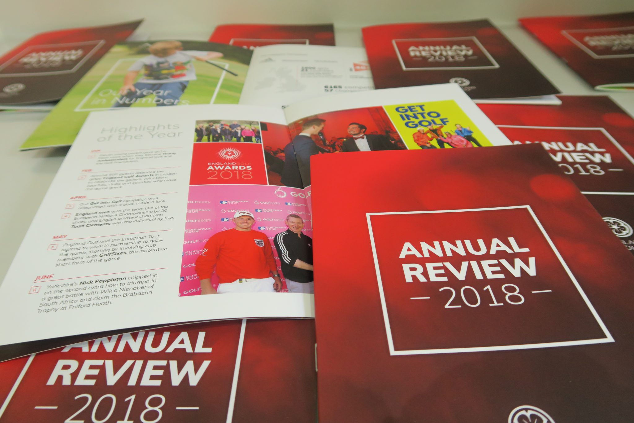 England Golf Annual Review