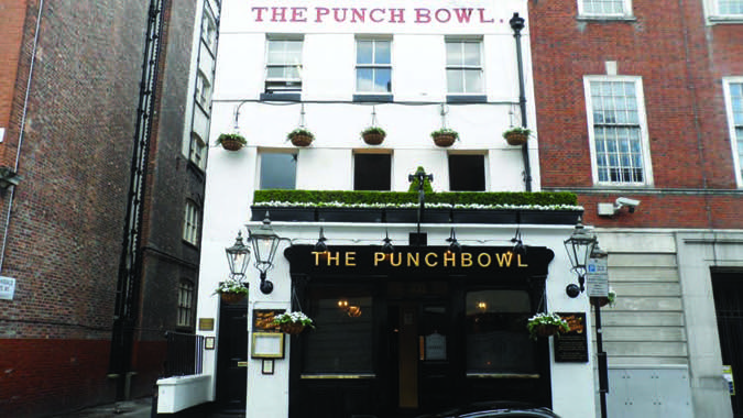 The Punchbowl Pub Owned By Singer Madonna And Director Guy