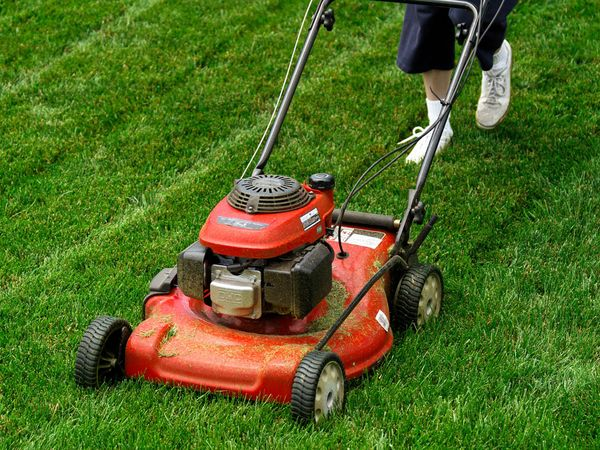 maintaining lawn care equipment