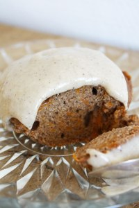 Glutenfrie græskarmuffins med vaniljefrosting