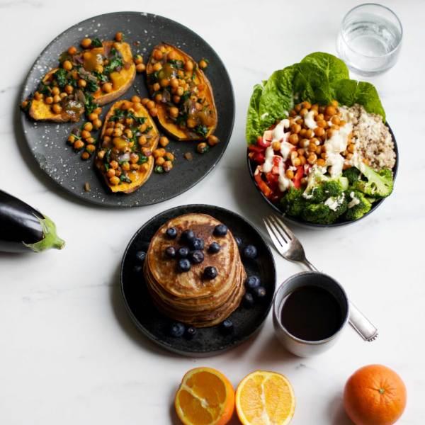En farverig madplan – til dig der elsker grøntsager