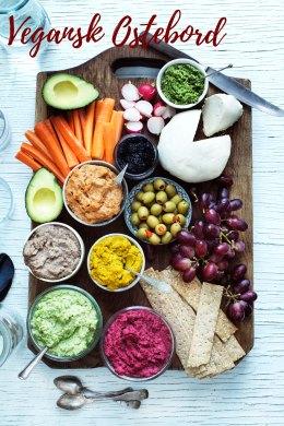 vegansk ostebord