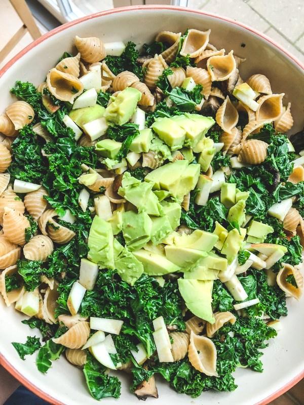 grønkålspastasalat