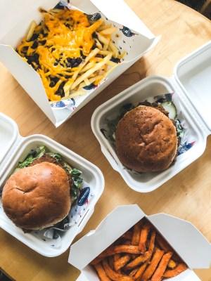 vegansk junkfood london