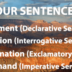 Diagramming Sentences Declarative Hand Off Auto Selector Switch Wiring Diagram Sentence Types Learn All Four The 4 1 Statement 2 Question 3 Exclamation