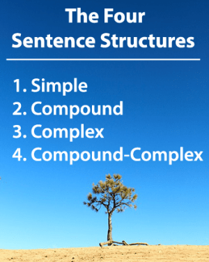 Sentence Structure: Learn about the four types of sentences!