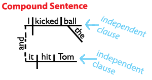 diagram a sentence easy steps honeywell rth2300 thermostat wiring structure learn about the four types of sentences here s compound www grammar revolution com