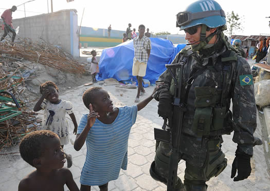 Peacekeeping  The United Nations Blue Helmets and What They Do