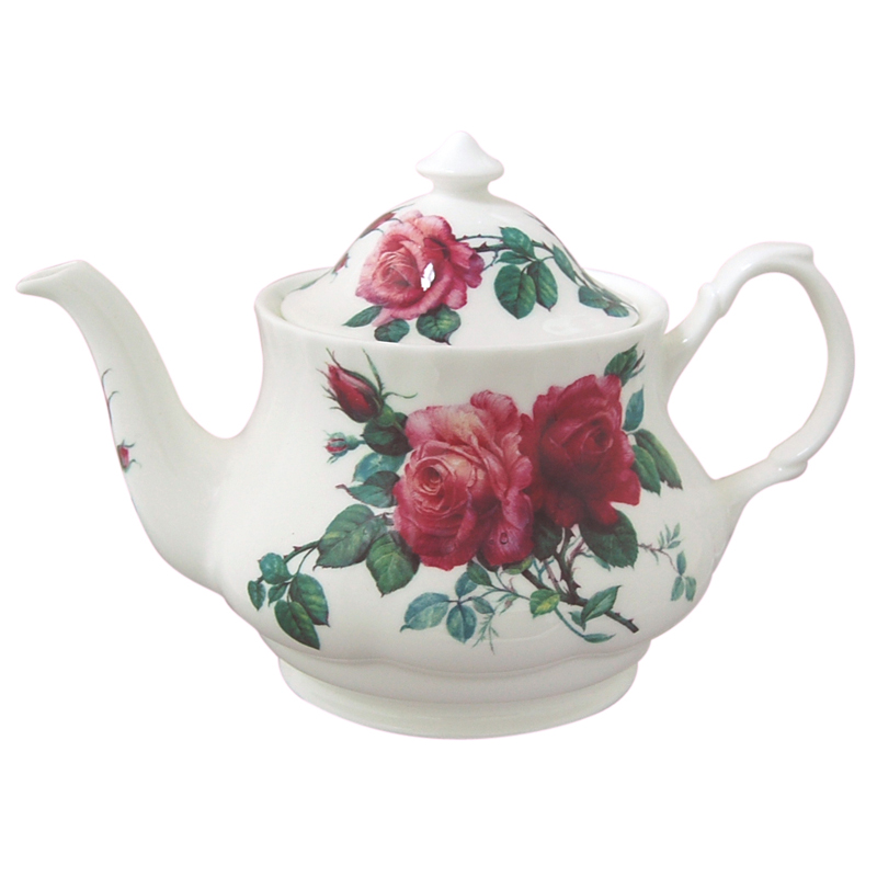 English Rose Teapot 6 Cup