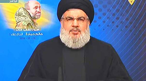 Sayyed Nasrallah: To Remain in Syria until Final Victory, We're to Elect Aoun and Not to Reject Hariri