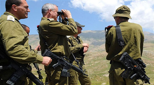 """Israeli"" Army's Chief: Fighting over Golan Heights to Renew in Few Months"