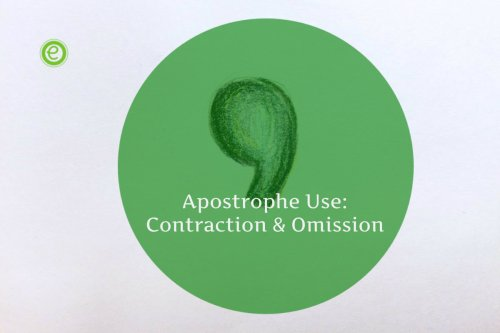 small resolution of Apostrophe Use in Contraction \u0026 Omission - Rules \u0026 Examples - EnglishBix