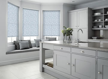 grey kitchen blinds islands bar stools luxury made to measure in the uk english