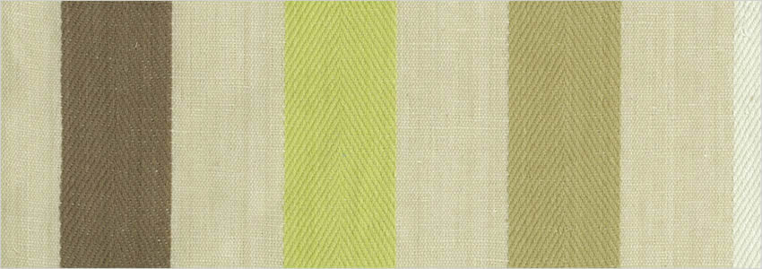 Made To Measure Striped Curtains Coffee Brown Beige Amp Lime Green