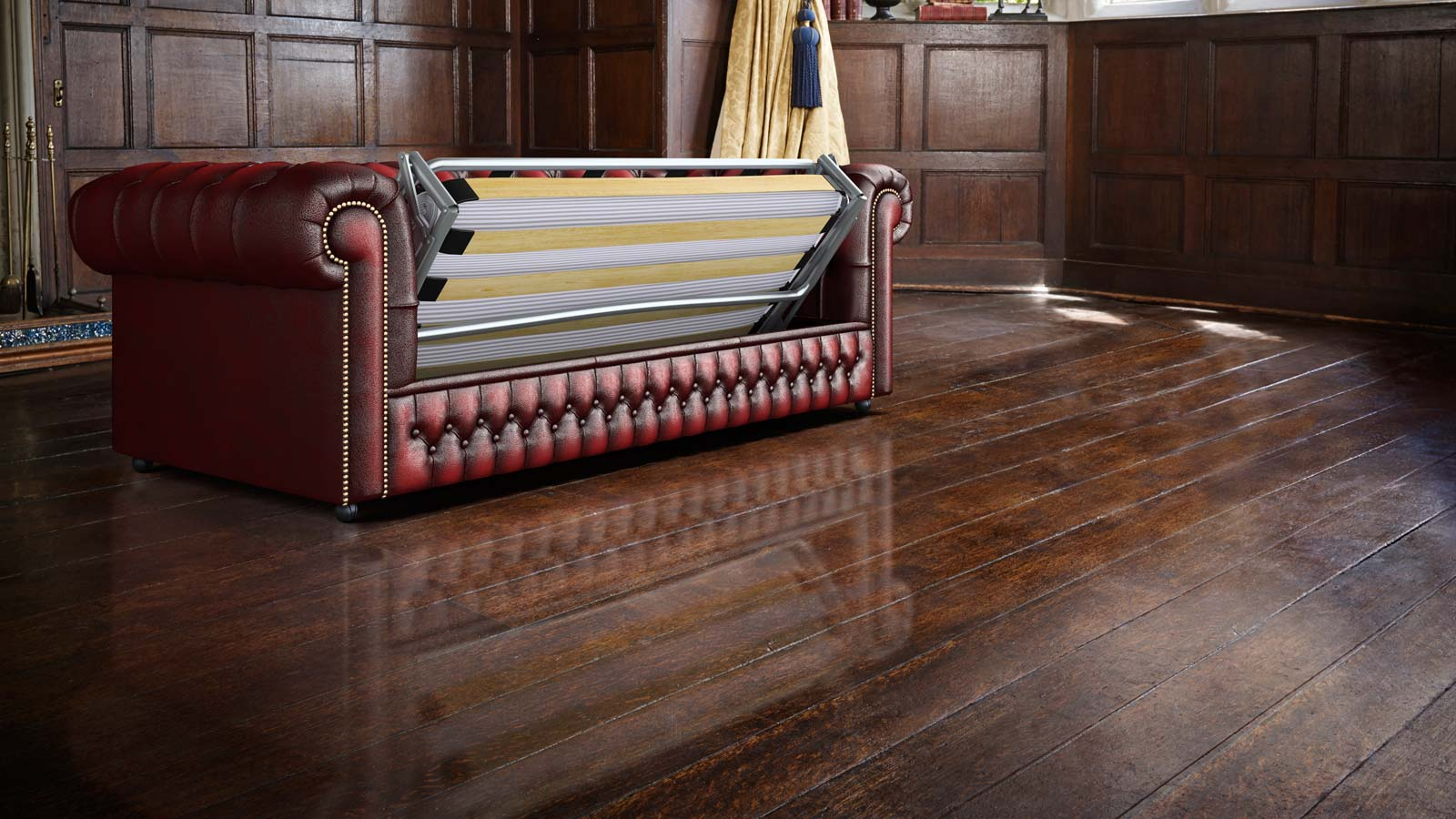 chesterfield sofa bed large throws dunelm