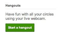 Hangout Google Plus