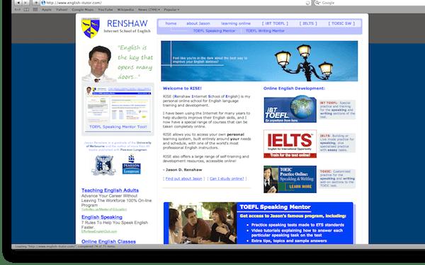 Renshaw Internet School of English