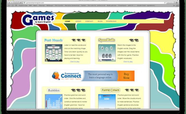 Tichinglis Games To Learn English