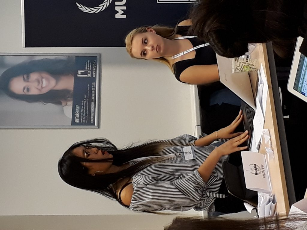ECP students at Model United Nations