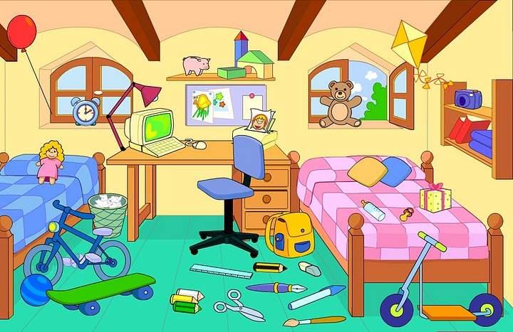Messy Bedroom Clipart  Psoriasisgurucom