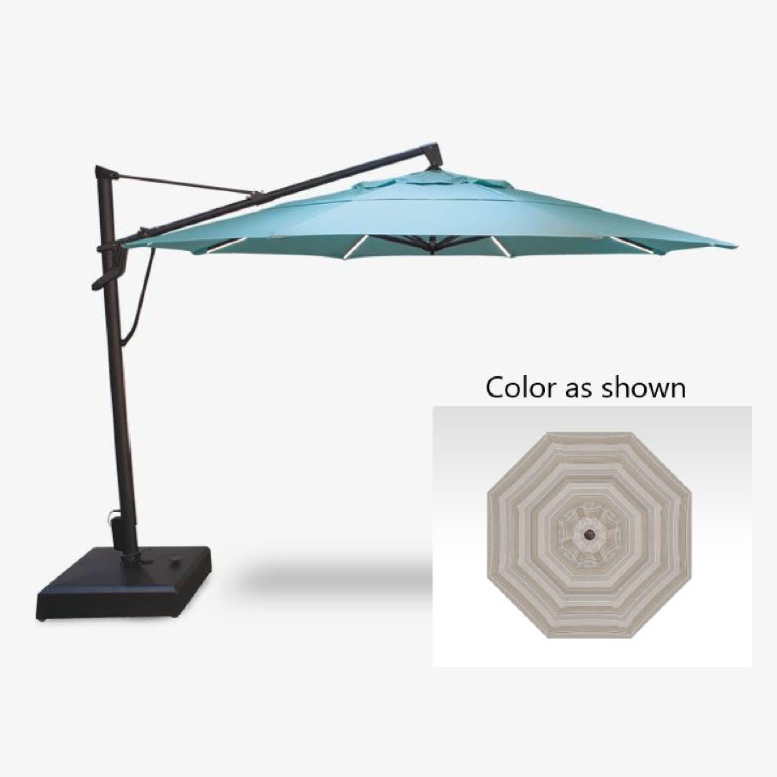 treasure garden starlux akzp 13 plus 13 foot cantilever umbrella