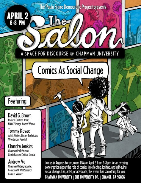 Comics as Social Change