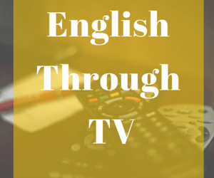 English Through TV
