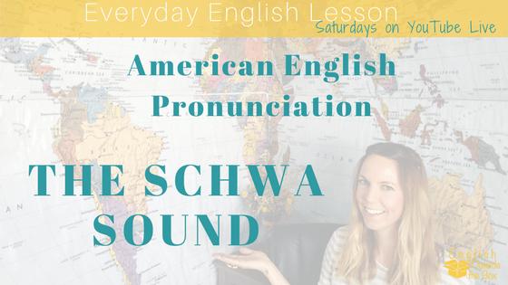 schwa in American english