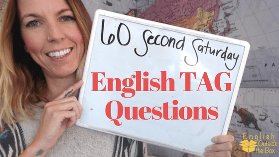 ways to use tag questions in english