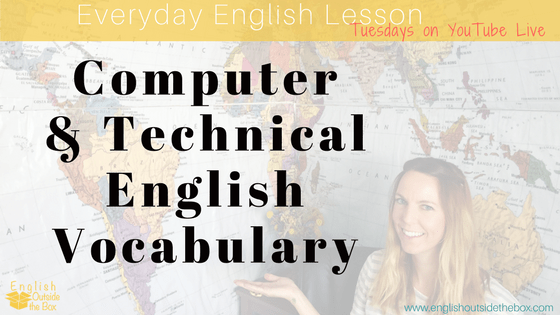 computer and technical English Vocabulary
