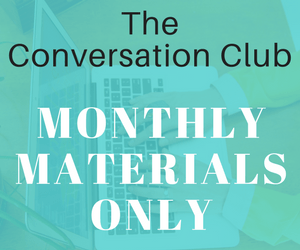 Conversation Club Lesson Sets {only}