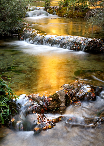 English_Photographer_Waterfall_Golden_Dawn_Light_Photo