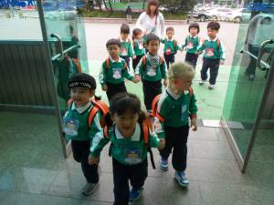 Kindergarten excursions - uniformly organised fun!