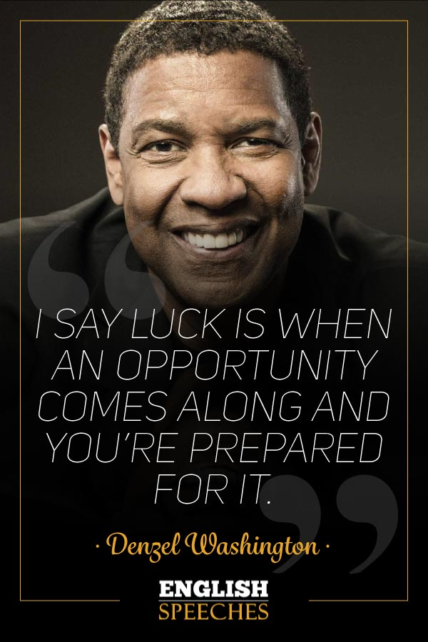 Denzel Washington Quote