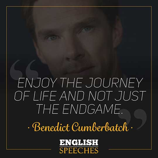 Benedict Cumberbatch Quote
