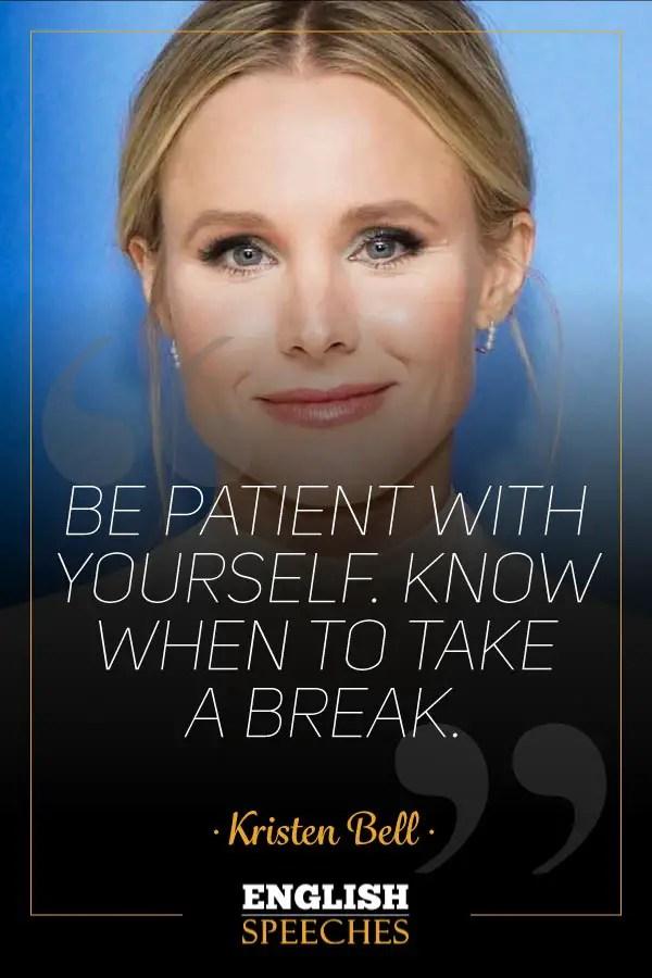 Kristen Bell Quote