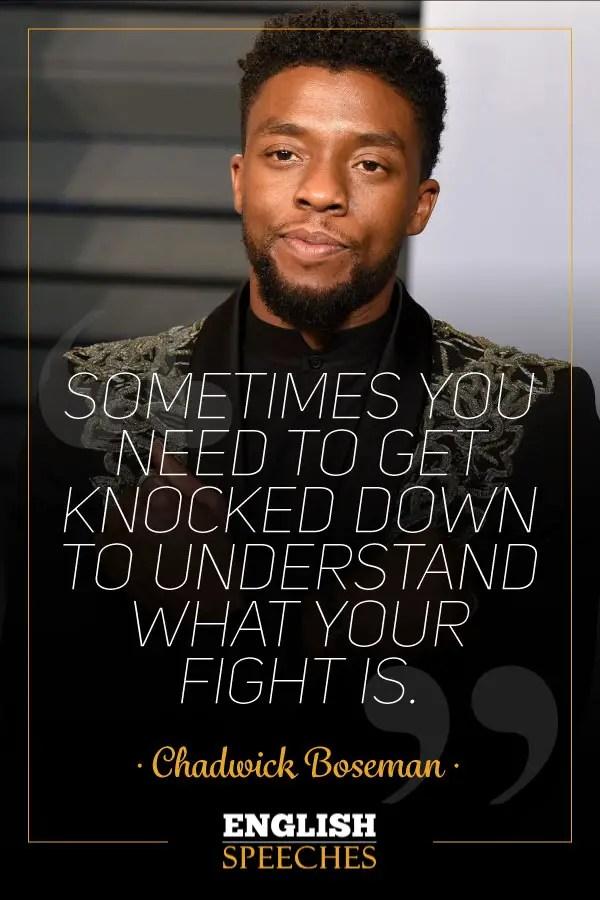 Chadwick Boseman Quote