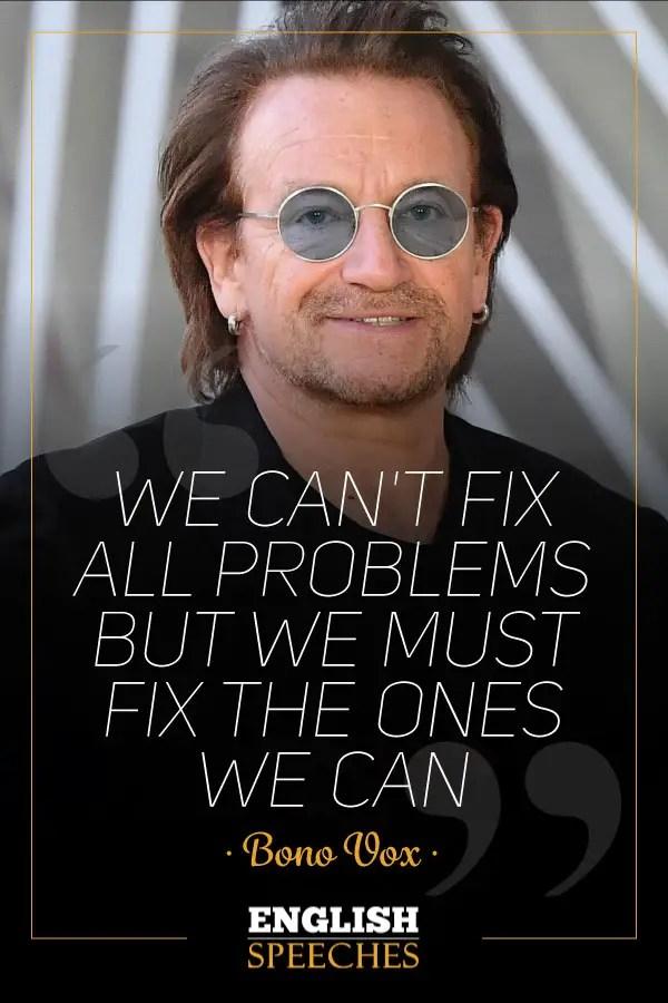Bono U2 Quote