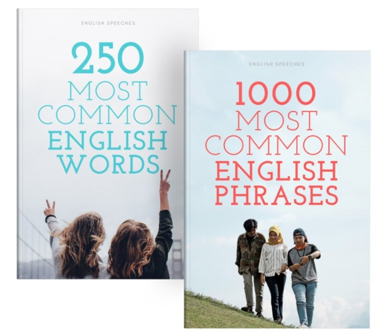 250 and 1000 English Words and Phrases