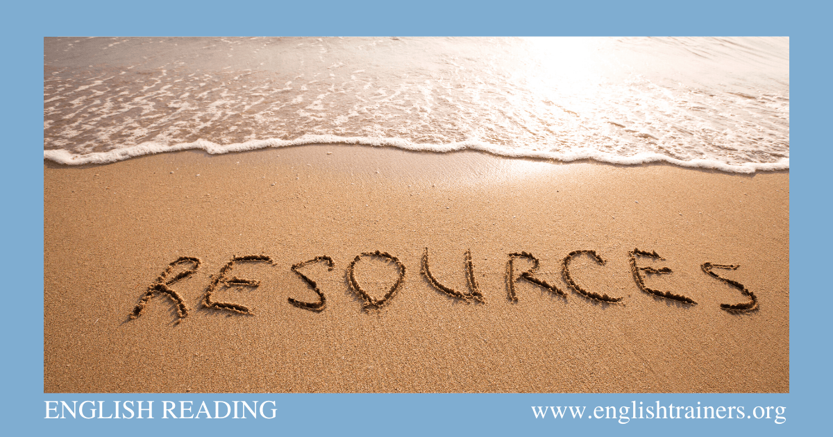 A selection of quality English Reading Resources that provide English learners with lots of free online help and practice. #EnglishTrainers #ESLweekender #EFLpractice via @englishtrainersorg
