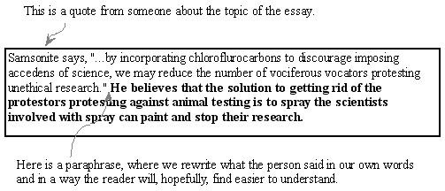 Paraphrasing Essay What Are Best Ways To Paraphrase Essay Quora