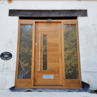 The Joinery Barn contemporary exterior doors