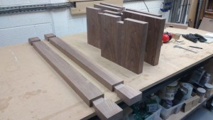 wooden & woven Sockets and dovetails cut