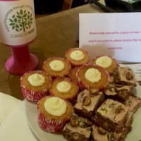 cakes for cancerwise will help you get through the day