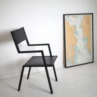 forge creative matte-black-chair-contemporay-design