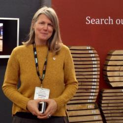 sarah jane farmer at timber expo photo taken by steve fowkes