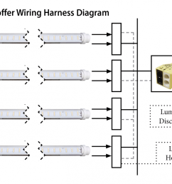 t8 led troffer wiring harness kits engineered products company epco utilitech pro led t8 led wiring diagram [ 1400 x 760 Pixel ]