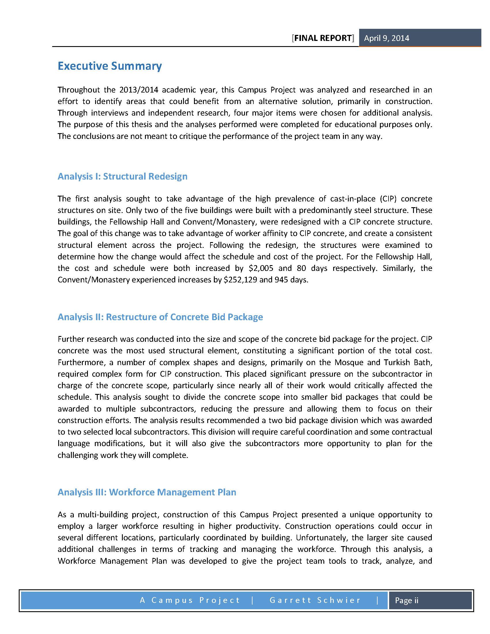 CPEP - Final Report