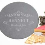 Rnd-Slate-Cheese-Board-Engraved-Wedding-Gift