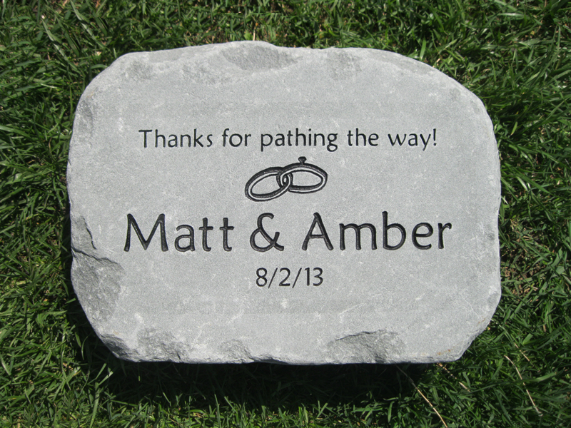 Personalized Pet Stepping Stones